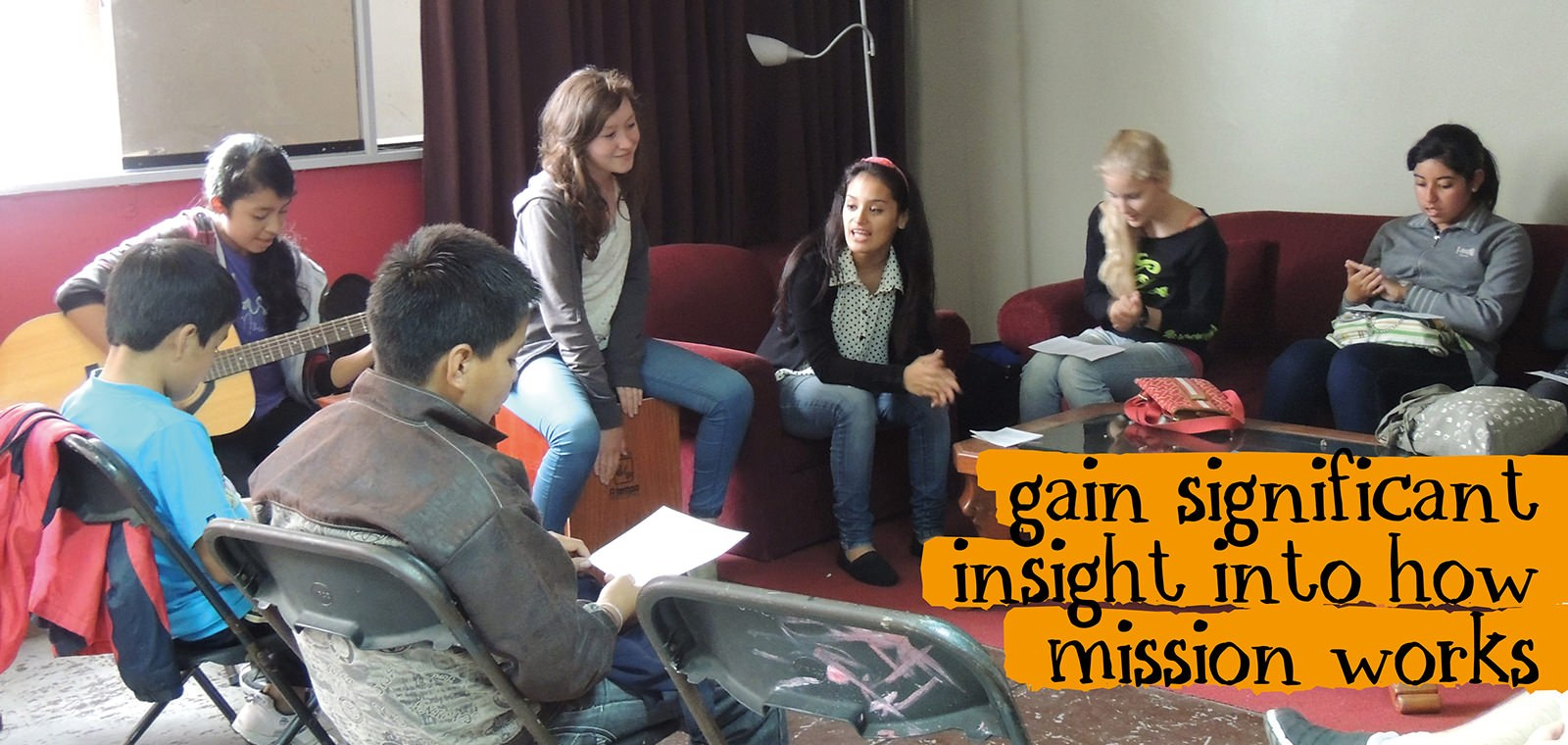 gain significant insight into how mission works